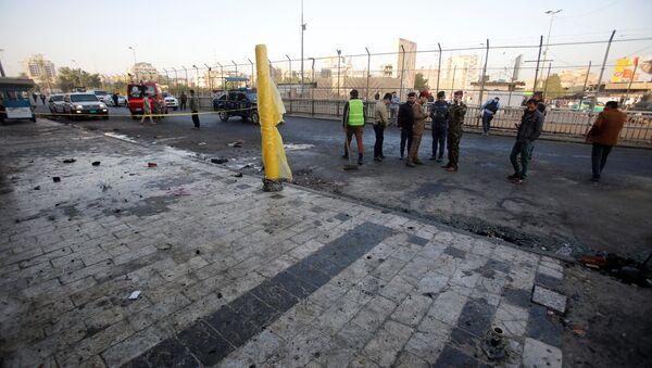 Bağdat'ta intihar saldırısı - Sputnik Türkiye