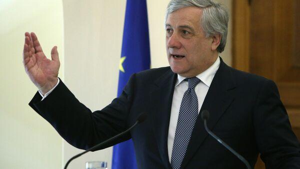 Avrupa Parlamentosu Başkanı Antonio Tajani - Sputnik Türkiye