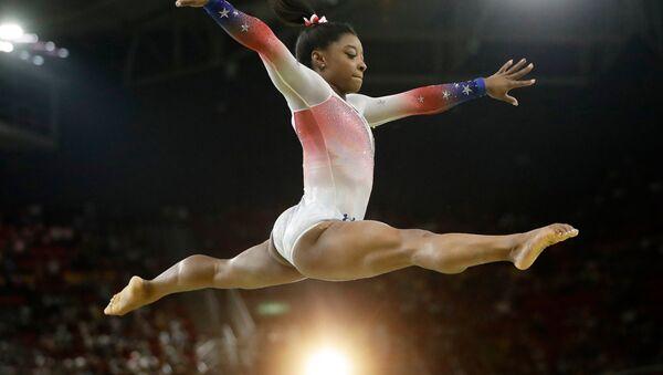 ABD'li cimnastikçi Simone Biles - Sputnik Türkiye