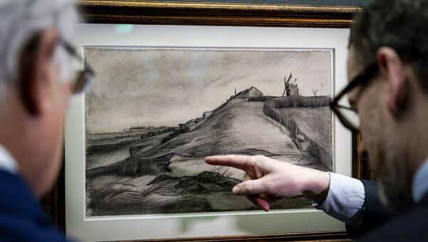 Vincent Van Gogh Taşocaklı Montmartre Tepesi Singer Müzesi Laren - Sputnik Türkiye