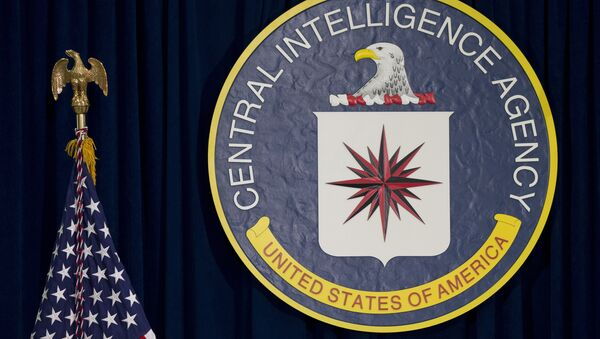 CIA merkezi Langley CIA amblemi - Sputnik Türkiye