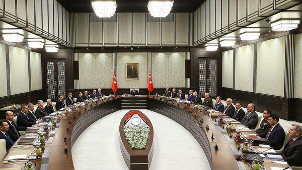 MGK toplantısında Afrin operasyonu ve OHAL'in uzatılması görüşüldü - Sputnik Türkiye