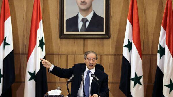Suriye Dışişleri Bakanı Yardımcısı Faysal Mikdad - Sputnik Türkiye