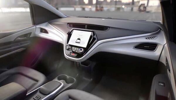General Motors- Direksiyonsuz otomobil - Sputnik Türkiye
