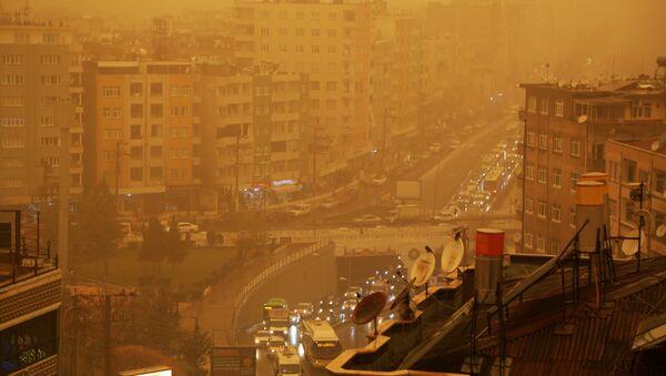 Diyarbakır'da çamur yağdı - Sputnik Türkiye