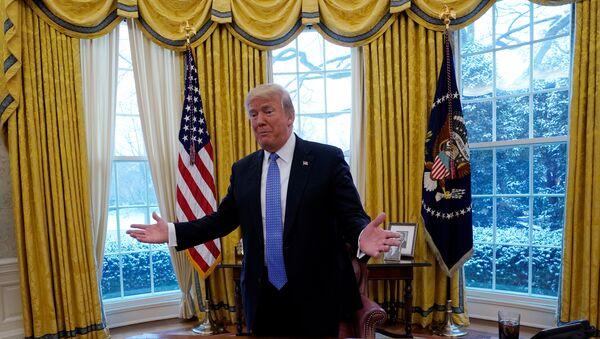 Beyaz Saray Donald Trump - Sputnik Türkiye
