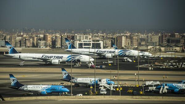 Egypt Air Mısır Havayolları Kahire Havaalanı - Sputnik Türkiye