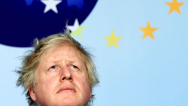 İngiltere Dışişleri Bakanı Boris Johnson - Sputnik Türkiye