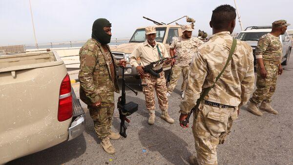 Libya güvenlik güçleri - Sputnik Türkiye