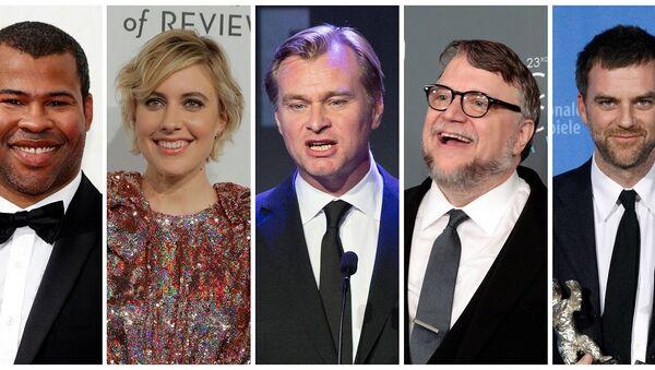 Jordan Peele, Greta Gerwig, Christopher Nolan, Guillermo del Toro ve Paul Thomas Anderson - Sputnik Türkiye