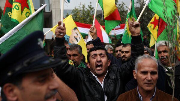 Lefkoşa'da Afrin protestosu - Sputnik Türkiye