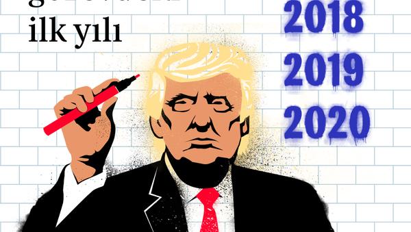 Trump'ın görevdeki ilk yılı - Sputnik Türkiye