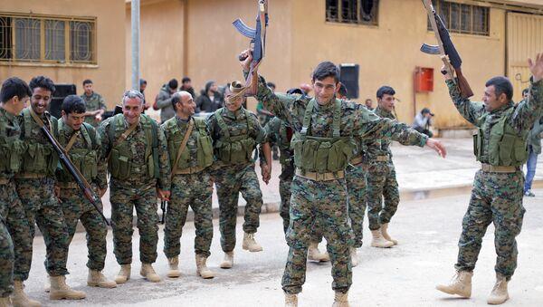 Haseke'deki Demokratik Suriye Güçleri - Sputnik Türkiye