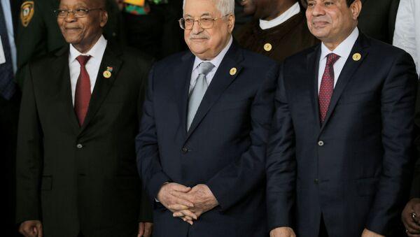 Filistin Devlet Başkanı Mahmud Abbas Afrika Birliği Liderler Zirvesi'nde - Sputnik Türkiye