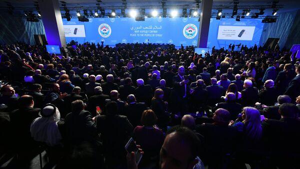 Suriye Ulusal Diyalog Kongresi - Sputnik Türkiye