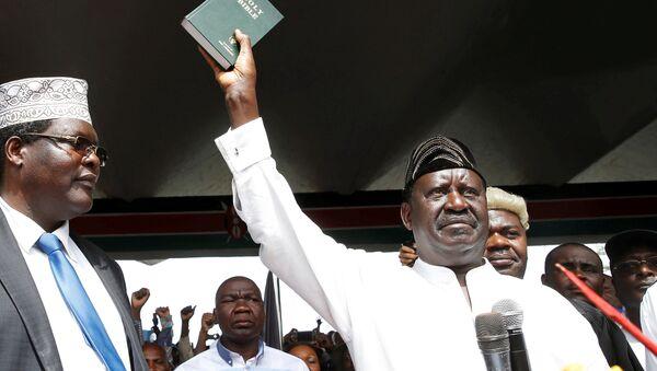 Kenya muhalefet lideri Raila Odinga - Sputnik Türkiye
