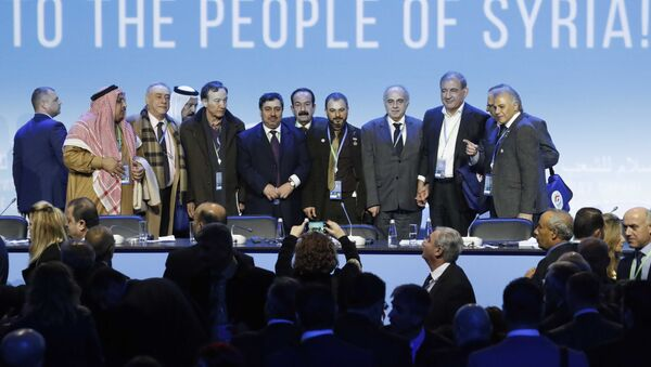 Soçi Suriye Ulusal Diyalog Kongresi - Sputnik Türkiye