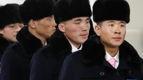 Kuzey Koreli atletler - Sputnik Türkiye
