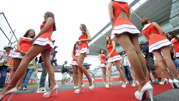 Formula 1'de 'Grid Kızları' dönemi kapandı - Sputnik Türkiye
