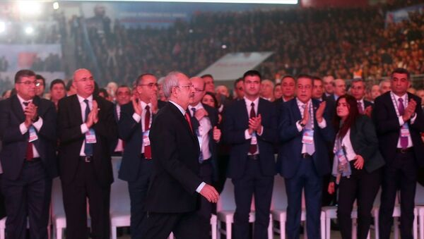 CHP'nin 36. Olağan Kurultayı'nda Kemal Kılıçdaroğlu - Sputnik Türkiye