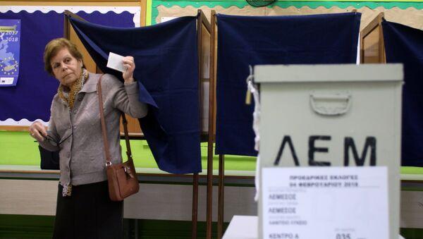 Kıbrıs Cumhuriyeti-Seçim - Sputnik Türkiye