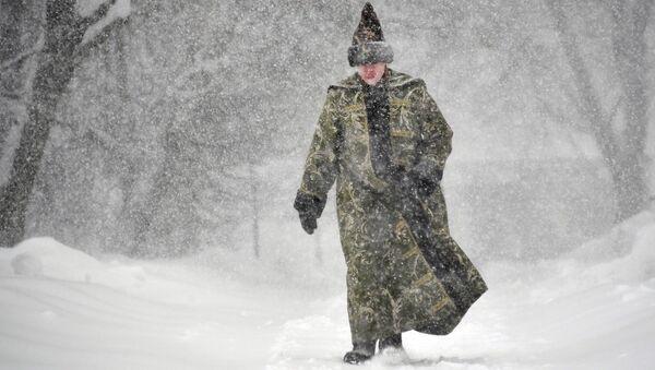 Moskova'da şiddetli kar yağışı - Sputnik Türkiye