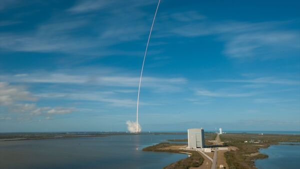 SpaceX, Falcon Heavy roketini fırlattı - Sputnik Türkiye