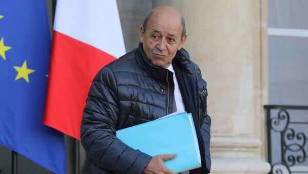 Fransa Dışişleri Bakanı Jean-Yves Le Drian - Sputnik Türkiye