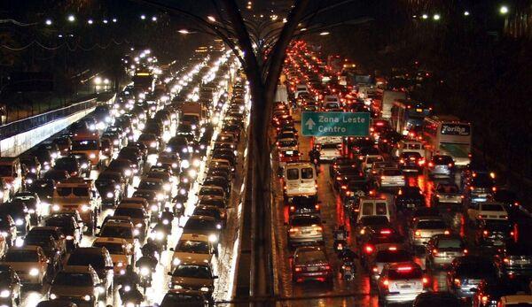 Sao Paulo trafik - Sputnik Türkiye