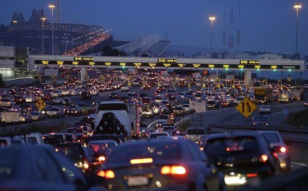 San Francisco trafik - Sputnik Türkiye