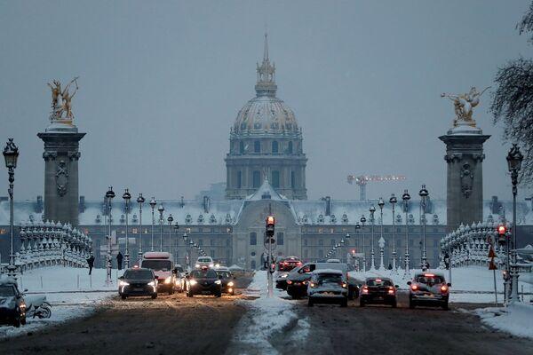 Paris trafik - Sputnik Türkiye