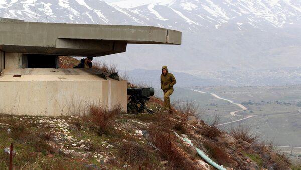 İsrail- Golan Tepeleri - Sputnik Türkiye