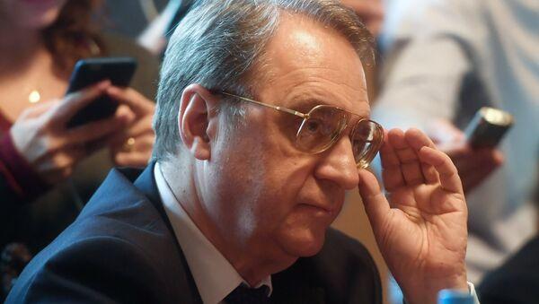 Rusya Devlet Başkanı Vladimir Putin'in Ortadoğu Özel Temsilcisi ve Dışişleri Bakan Yardımcısı Mihail Bogdanov - Sputnik Türkiye