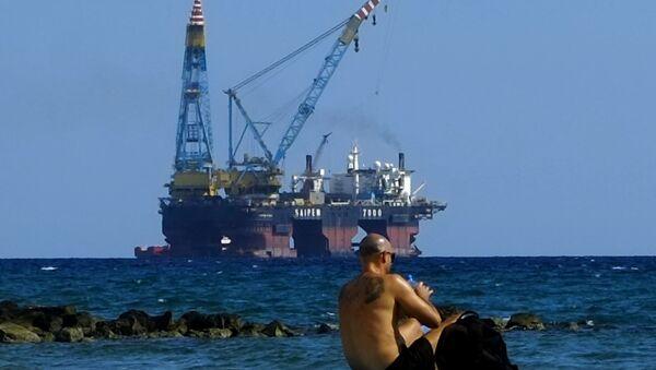 doğalgaz-sondaj platformu - Sputnik Türkiye