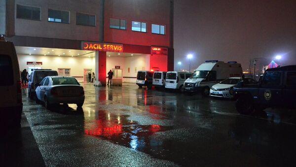 Malatya Eğitim ve Araştırma Hastanesi Acil Servisi - Sputnik Türkiye