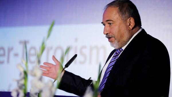 İsrail Savunma Bakanı Avigdor Liberman - Sputnik Türkiye