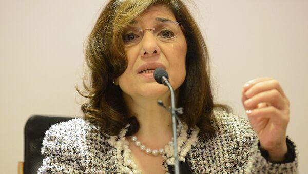 Suriye Devlet Başkanı Beşar Esad'ın danışmanı Buseyna Şaban - Sputnik Türkiye