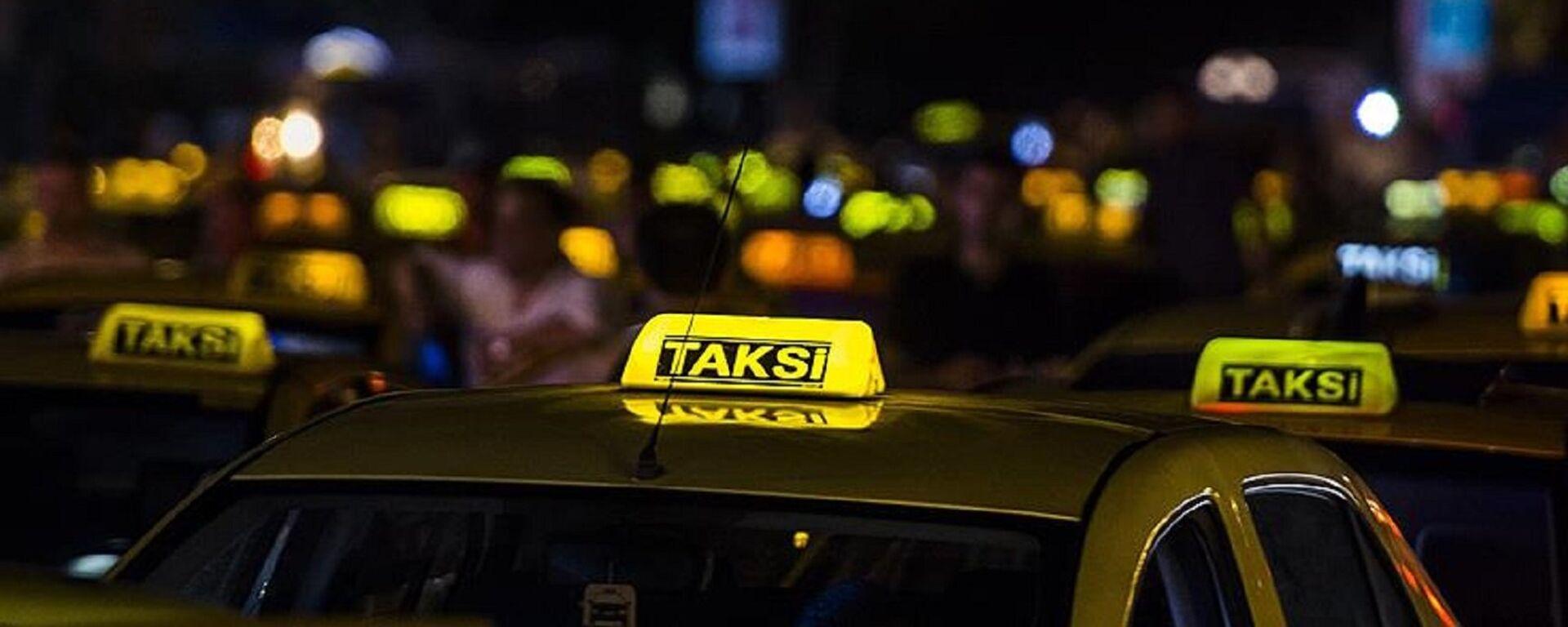 Taksi - Sputnik Türkiye, 1920, 26.08.2021