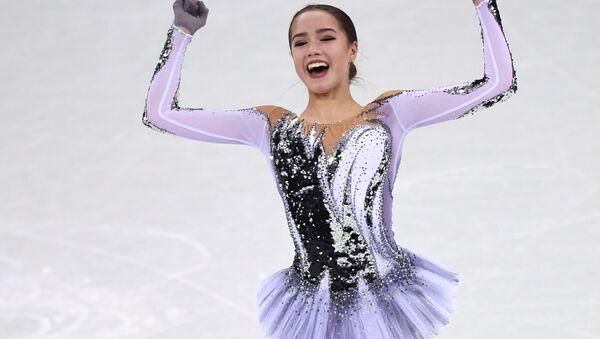 Rus artistik patinajcılar PyeongChang'da - Sputnik Türkiye