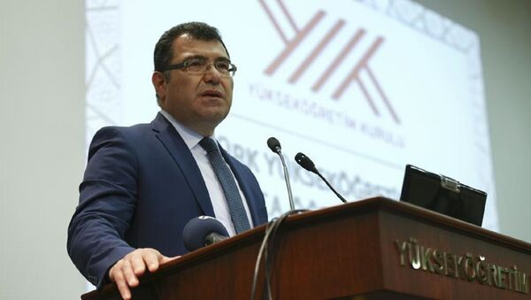 Türkiye Bilimsel ve Teknolojik Araştırma Kurumu'nun (TÜBİTAK) yeni başkanı Prof. Dr. Hasan Mandal - Sputnik Türkiye
