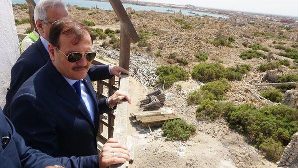 Başbakan Yardımcısı Hakan Çavuşoğlu Sevakin Adası'nda - Sputnik Türkiye