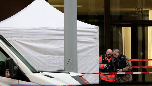 İsviçre'nin Zürih kentinde silahlı saldırı - Sputnik Türkiye