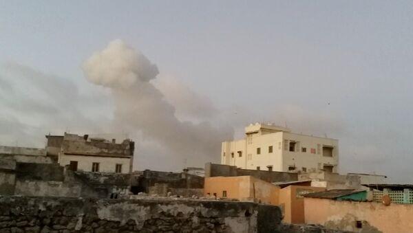 Somali'de çifte saldırı - Sputnik Türkiye