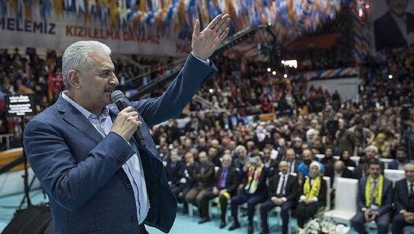 AK Parti Genel Başkanvekili ve Başbakan Yıldırım - Sputnik Türkiye