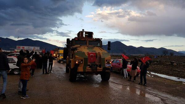 JÖH ve PÖH ekipleri, İslahiye ilçesinde kurulan İçişleri Bakanlığı Müşterek Görev Merkezinden yola çıktı. - Sputnik Türkiye