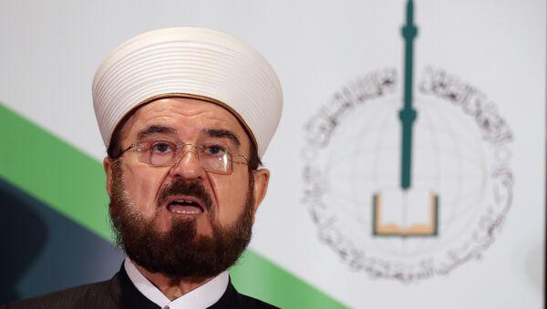 Dünya Müslüman Alimler Birliği (IUMS) Genel Sekreteri Ali Karadaği - Sputnik Türkiye