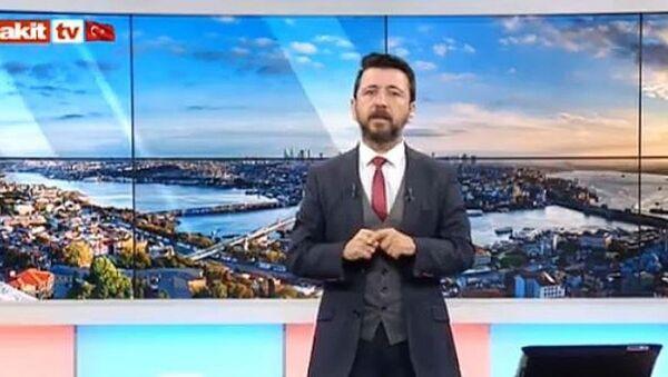 Akit TV sunucusu Ahmet Keser - Sputnik Türkiye