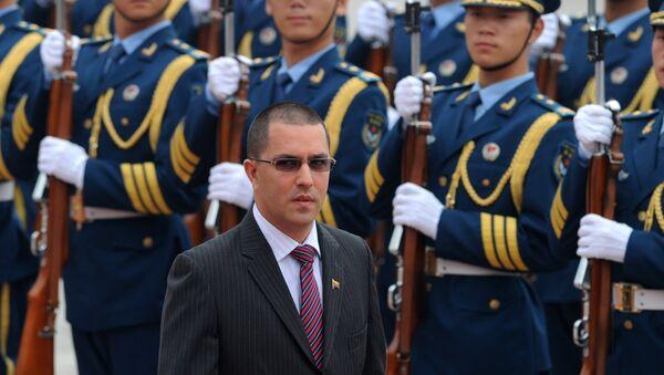 Venezüella Dışişleri Bakanı Jorge Arreaza Montserrat - Sputnik Türkiye