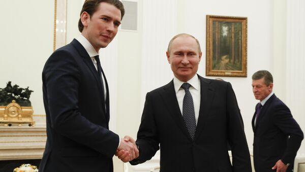 Kurz Putin Kremlin - Sputnik Türkiye
