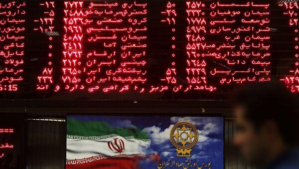 İran Tahran borsa - Sputnik Türkiye